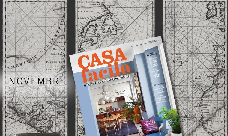 CasaFacile: il numero di novembre 2019