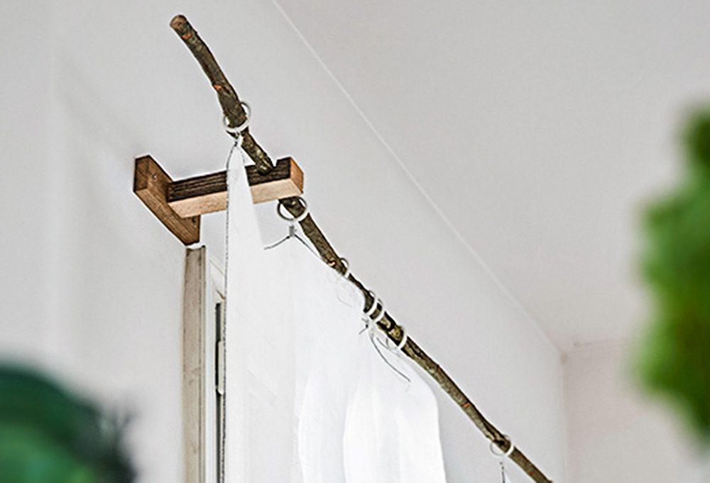 Come realizzare un bastone per le tende fai-da-te