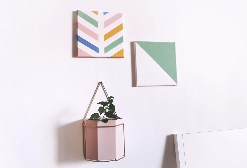 Decora le pareti di casa con le tele fai da te