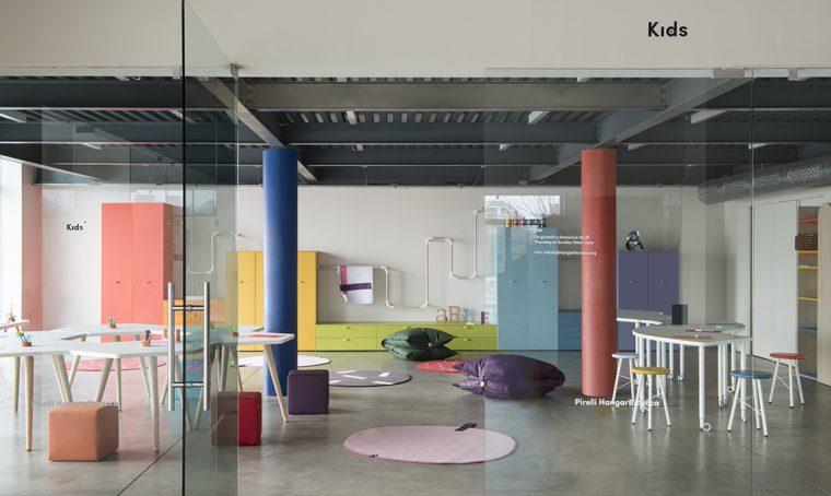 NIDI arreda gli spazi Kids di Pirelli HangarBicocca a Milano