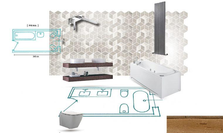 Come ristrutturare un bagno di medie dimesioni