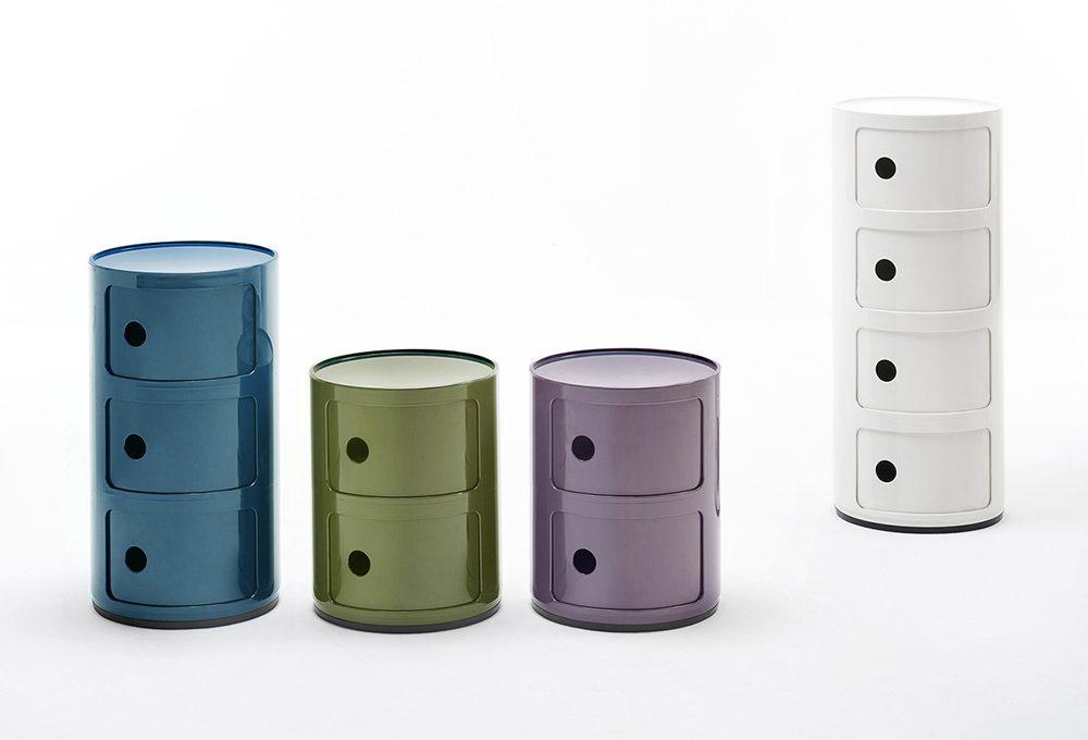 Icone del design: contenitori Componibili di Kartell