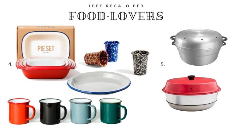 Natale: idee regalo per amanti del cibo