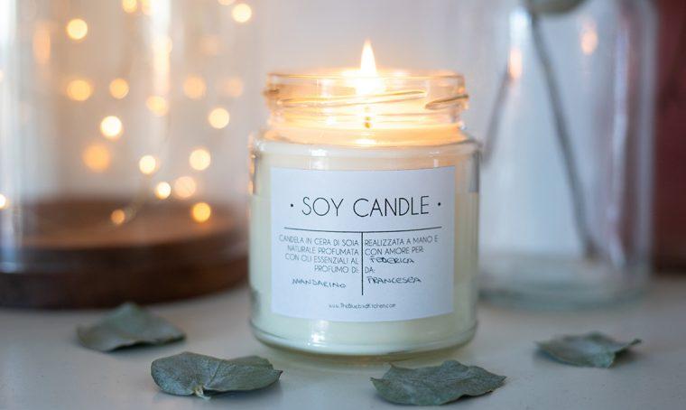 Come realizzare le candele di soia profumate