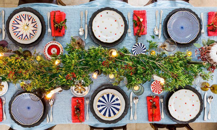7 stili per apparecchiare la tavola delle feste