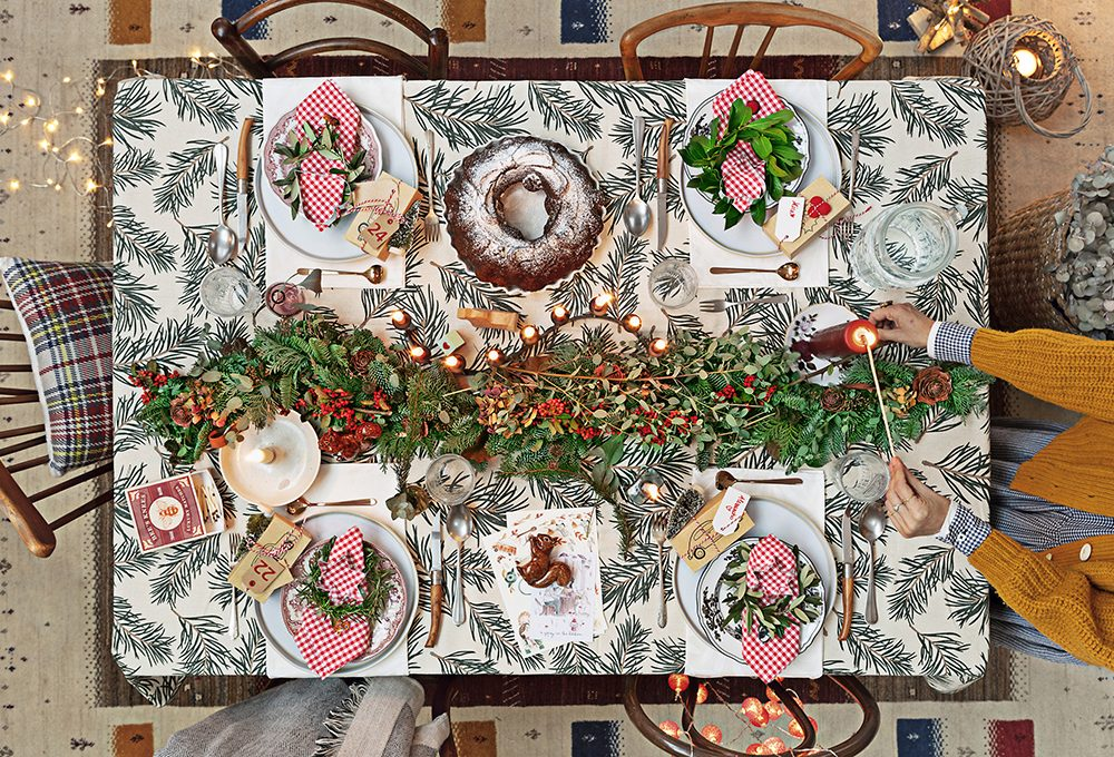 Natale: mise en place in stile nordico