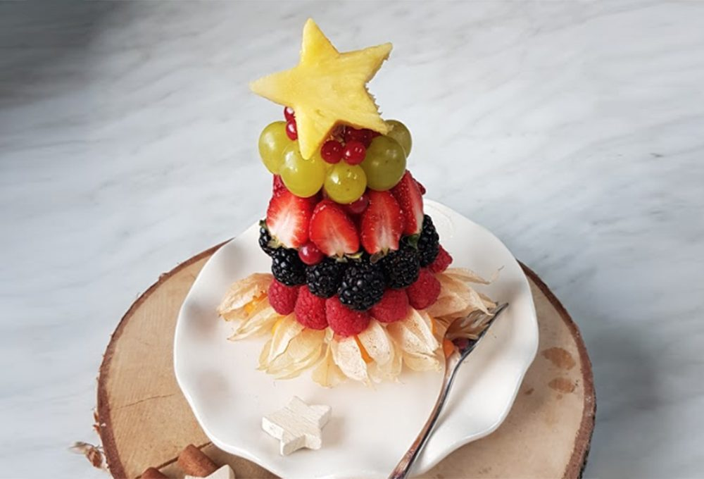 Alberelli commestibili per aperitivo o dessert
