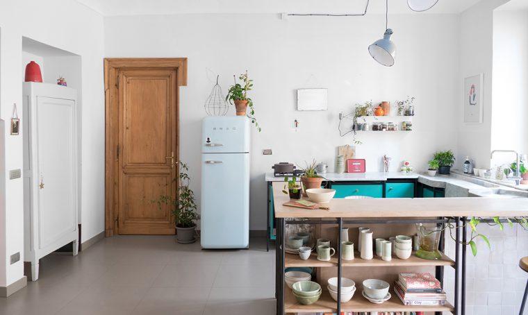 Una casa dallo stile essenziale ma molto personale