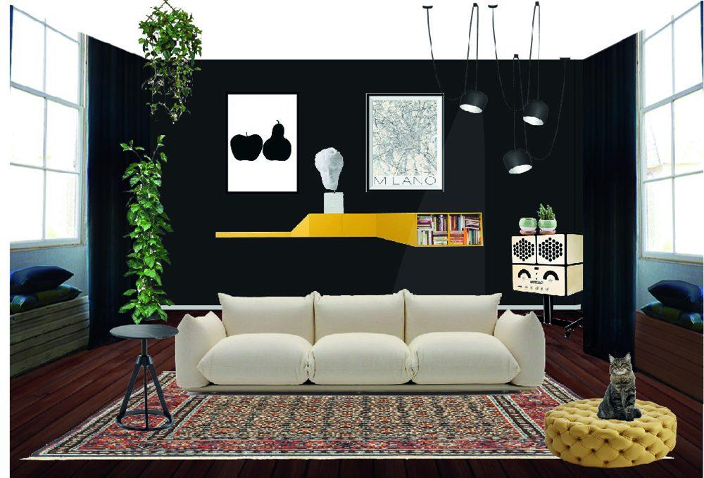 Nero Vantablack e Blu Klein: colori di tendenza tra arte e arredamento