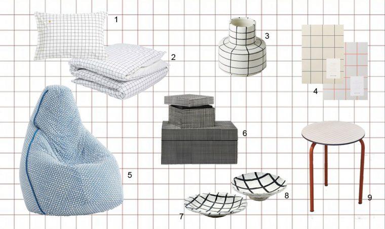 Trend: il minimalismo del grid pattern, il motivo a griglia