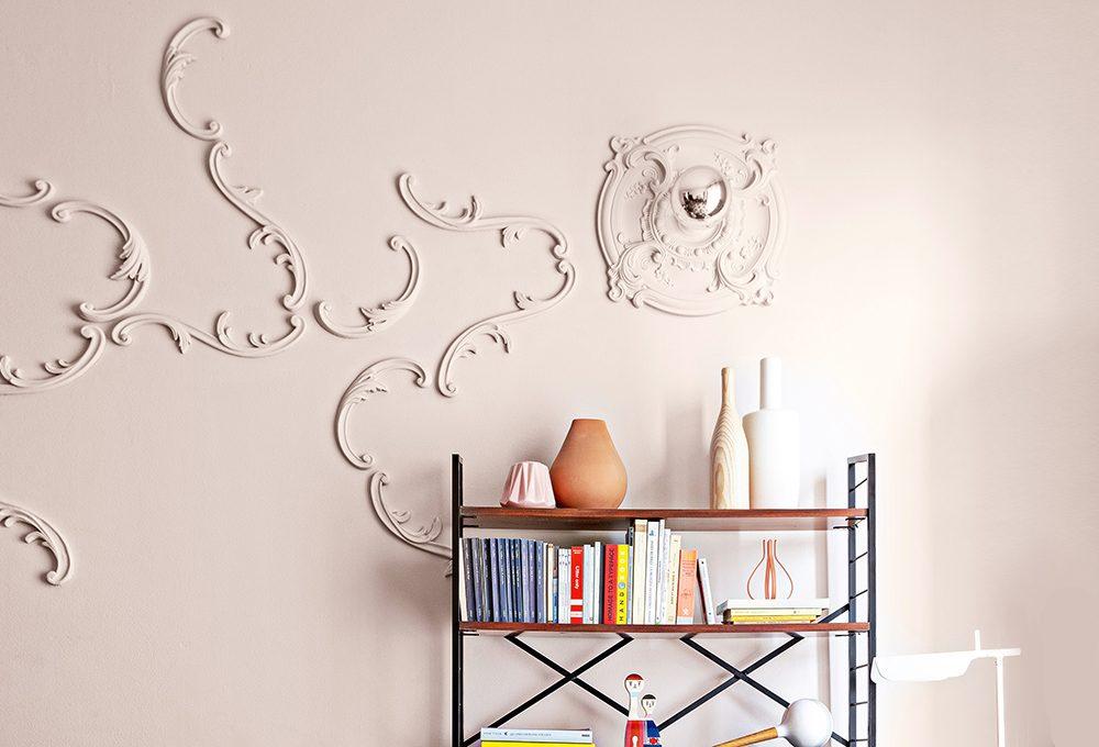 Decorare le pareti con gli stucchi