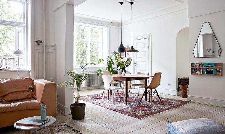 Arredare il soggiorno in stile new-nordic