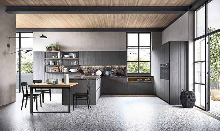 Tendenze in cucina: il legno dal sapore industriale