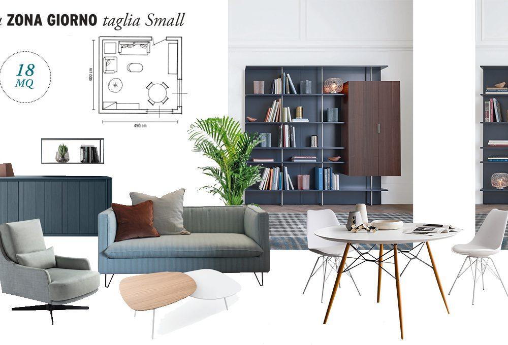 Organizza il soggiorno sfruttando gli angoli