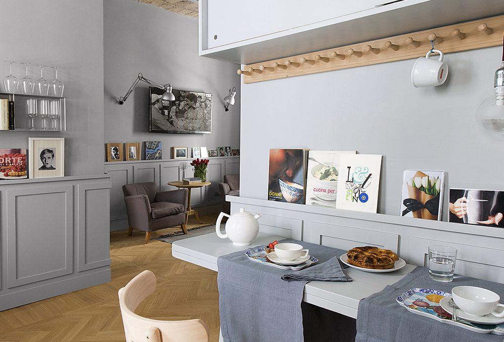 Come trasformare un piccolo appartamento in un open space di charme