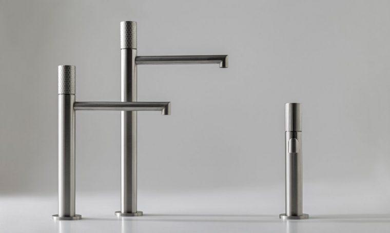 Miscelatori per il bagno: linee eleganti e finiture sempre più personalizzabili