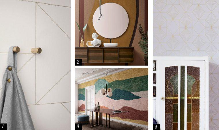 Carta da Parati: decorare i muri con fiori, animali e geometrie