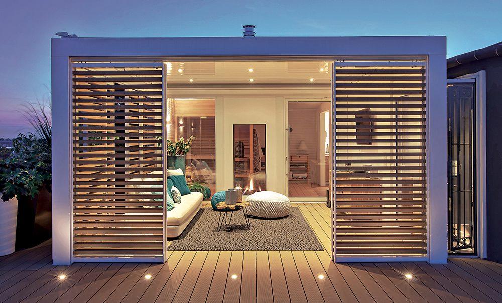 Trasforma gli spazi outdoor in una stanza in più