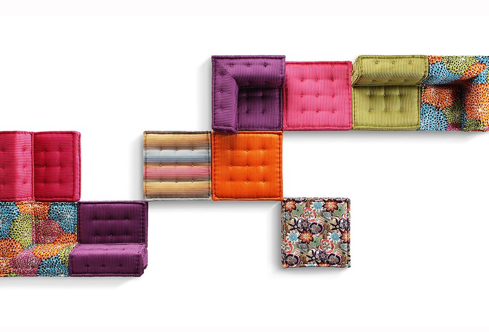 Il divano componibile Mah Jong