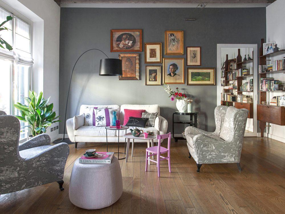 Il restyling che valorizza i mobili d'epoca