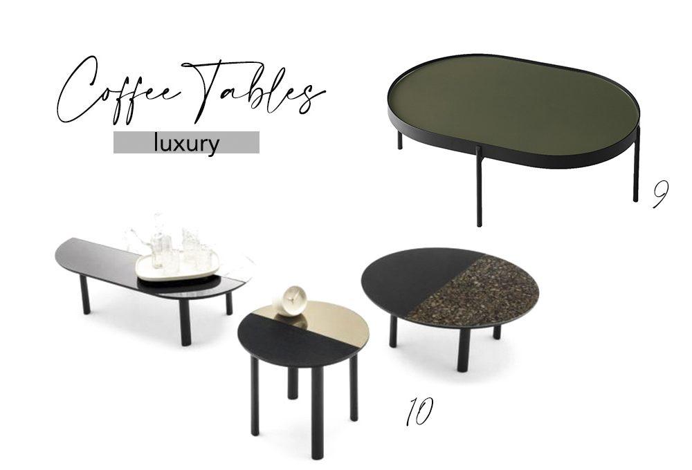 Coffee table per tutte le tasche