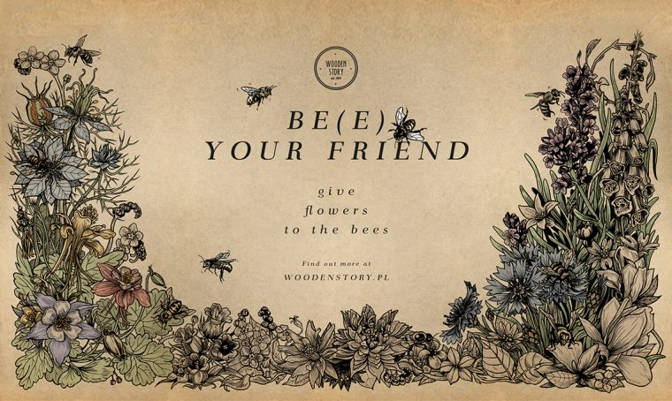 (Be) e your friend: Wooden Story si prende cura delle api