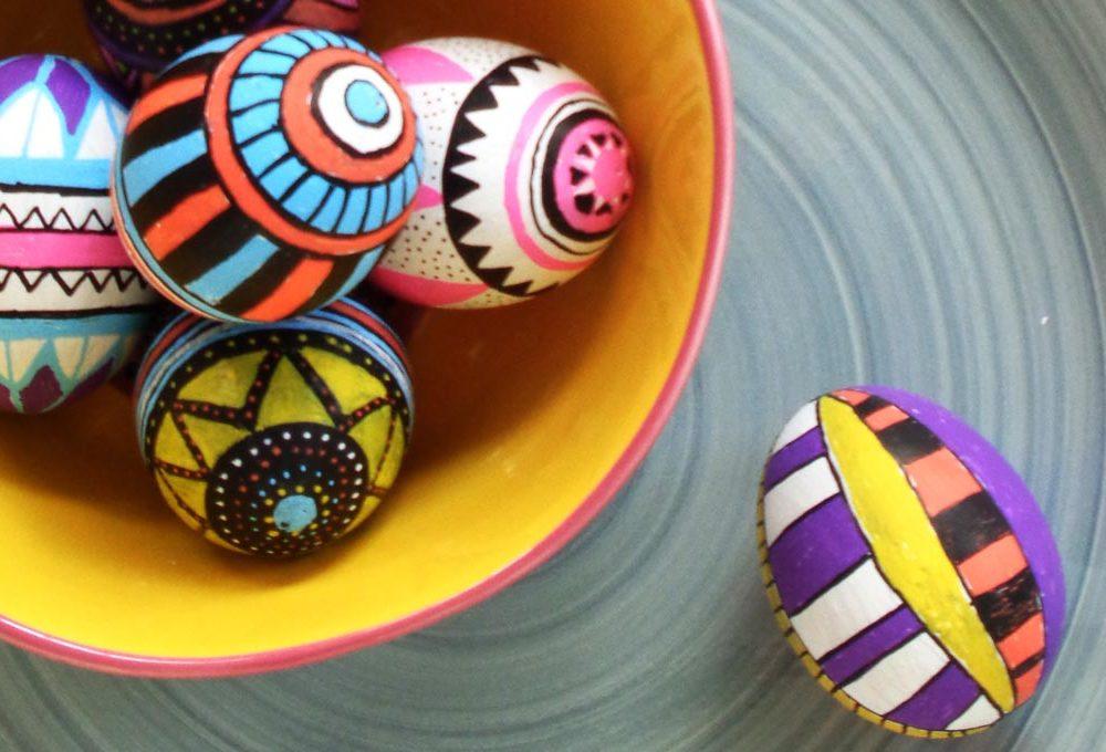 Come decorare le uova per la tavola di Pasqua