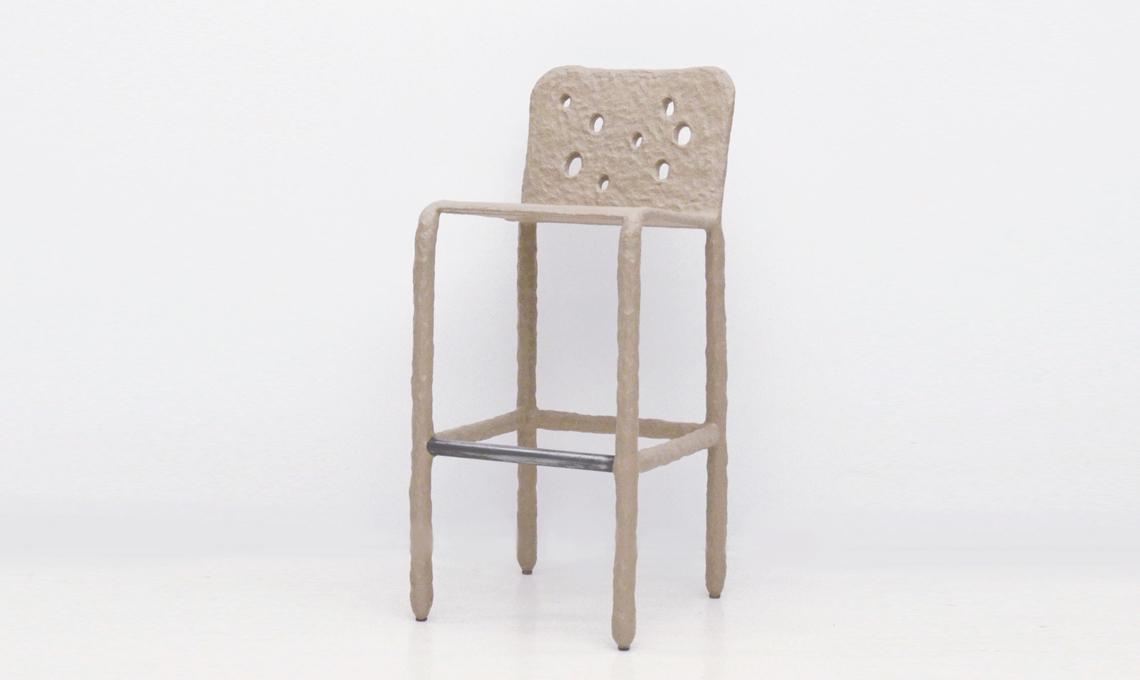 sedia design fatta a mano
