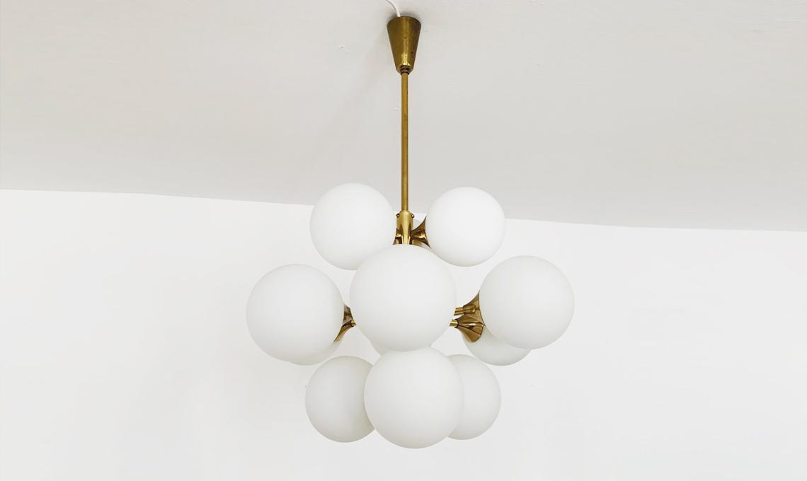 lampadario vintage