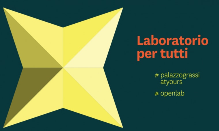 'Laboratorio per tutti' le attività digitali di Palazzo Grassi
