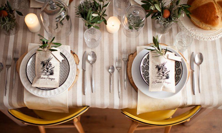 Idee veloci e originali per la tavola di Pasqua