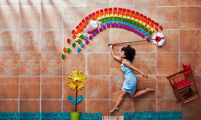 Il sistema dei 4 colori per pulire casa e aumentare l'igiene