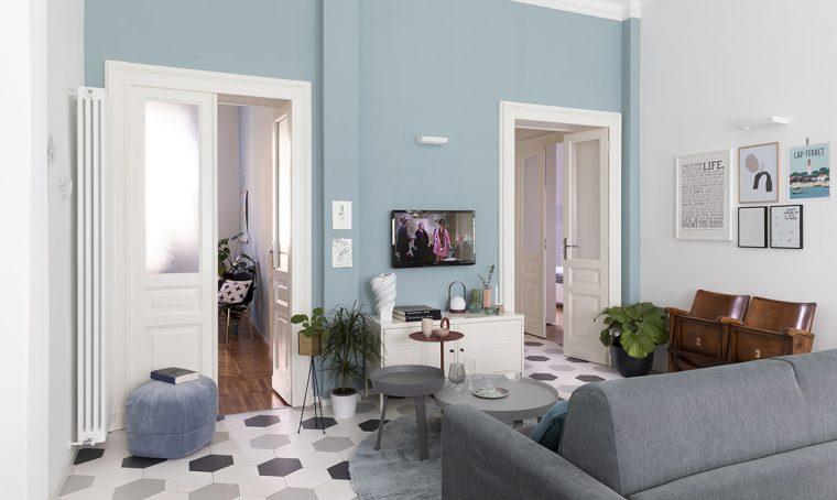 Spazi e colori rivisitati portano il cielo nelle stanze