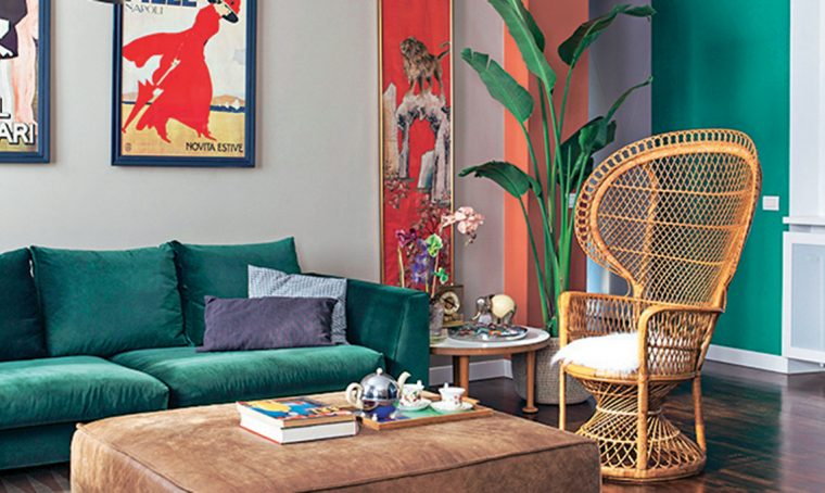 Arredare il soggiorno in stile contemporaneo