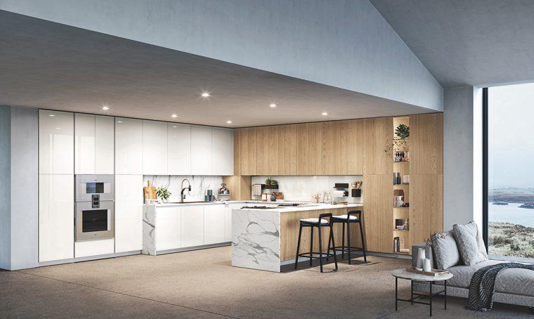 Nuovi soluzioni e materiali per la cucina