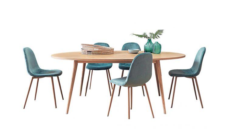 Zona pranzo: tavoli e sedie in tutte le taglie