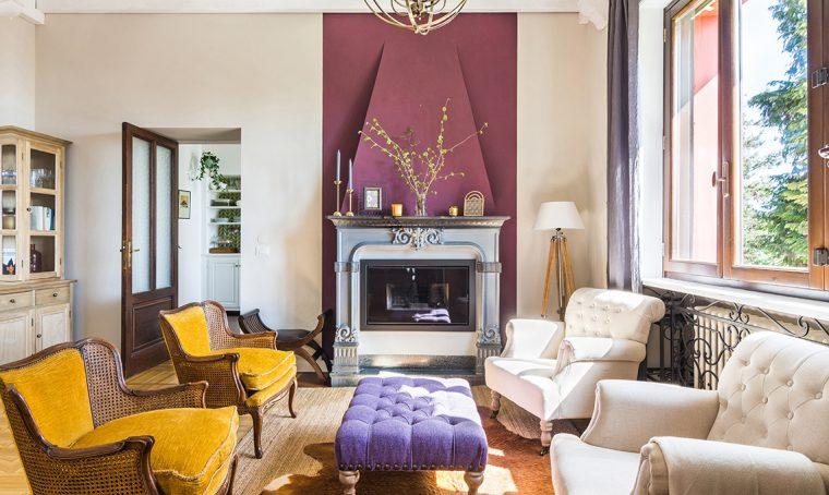 Prima e dopo: restyling in stile inglese per la villa sul Lago Maggiore