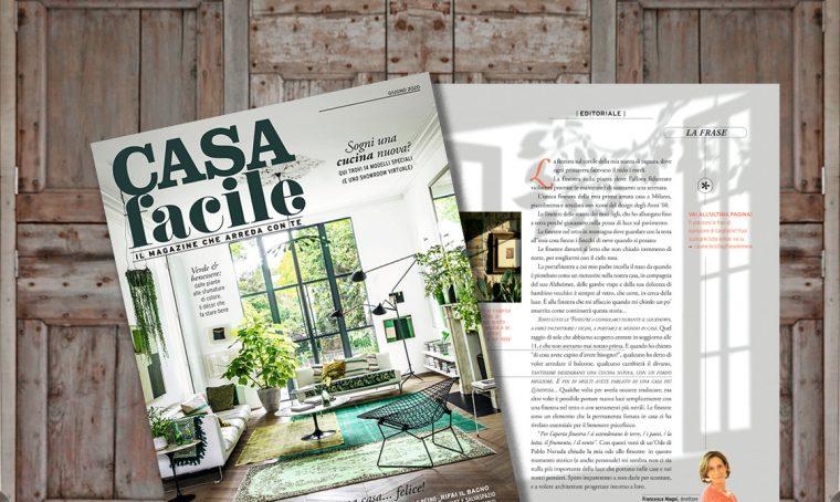 CasaFacile di giugno 2020: l'editoriale del direttore