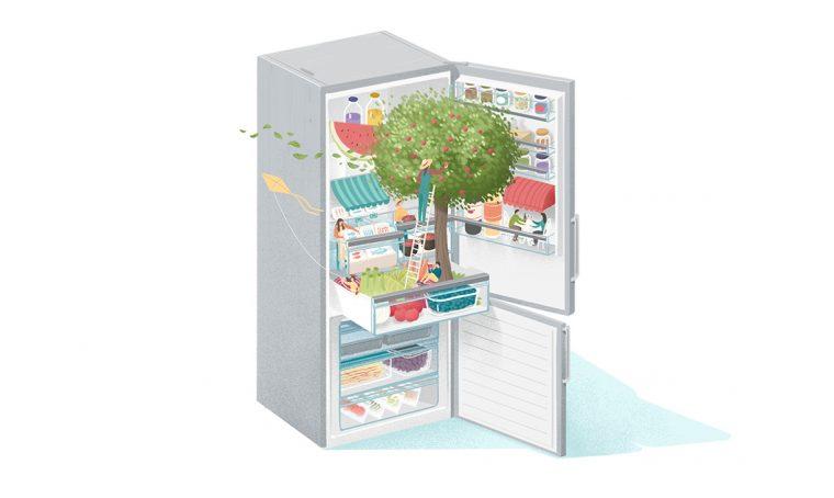 Bosch: il frigorifero sostenibile e tecnologico
