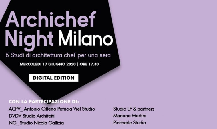 Archichef Night 2020: edizione digitale