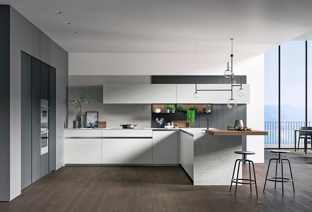 Vetro: materiale raffinato ed ecologico per la cucina