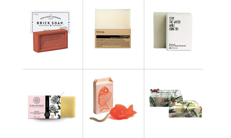 Scegli i saponi bio e di design