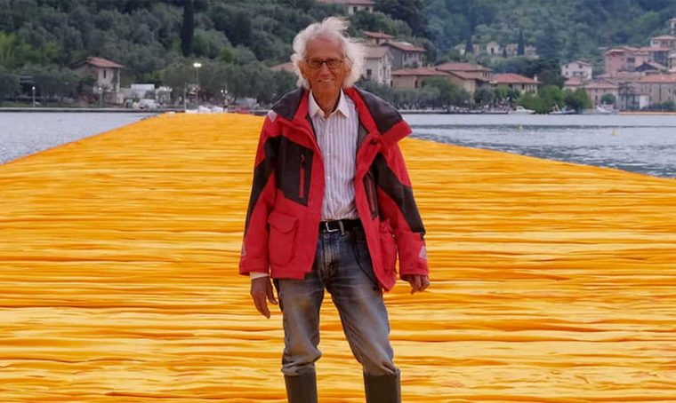 "Morto l'artista Christo che realizzò ""The Floating Piers"" sul Lago d'Iseo"