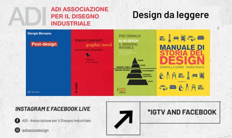 Design da leggere: gli incontri promossi dall'ADI – Associazione per il disegno industriale