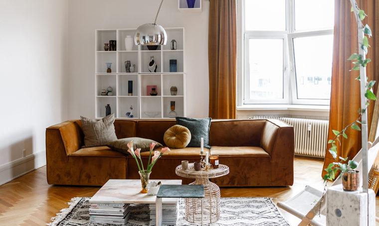 Scelte semplici per un appartamento dalle atmosfere chic