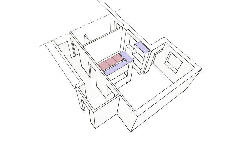 Parete addio: dividi lo spazio con il mobile a tre facce