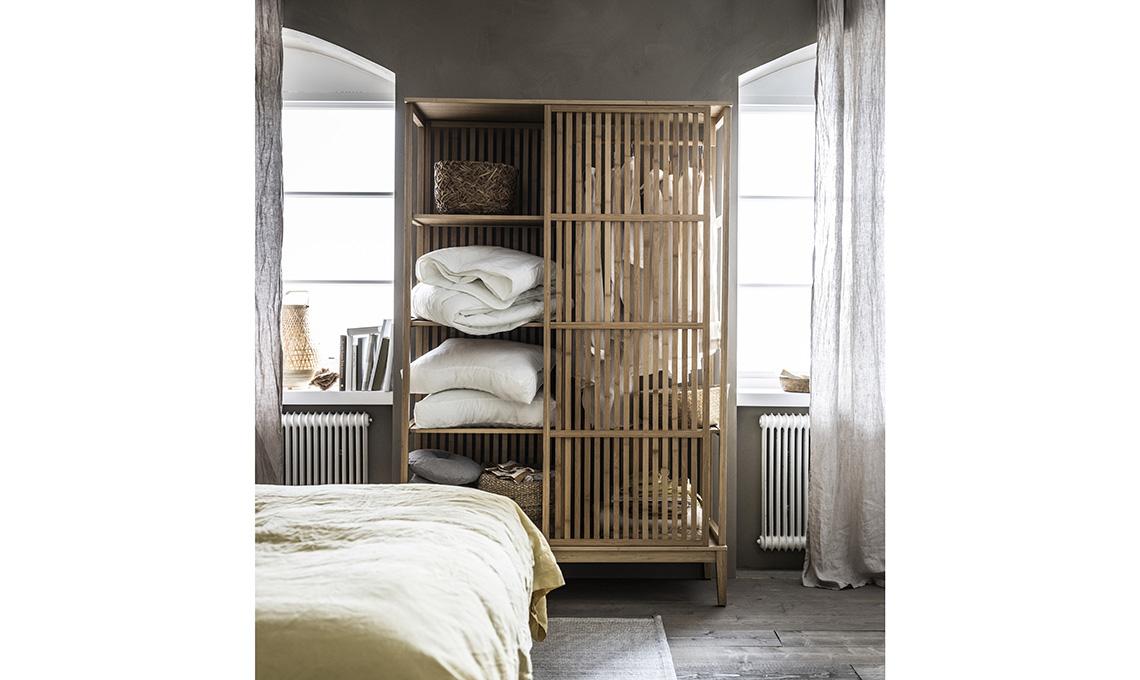 armadio bambù