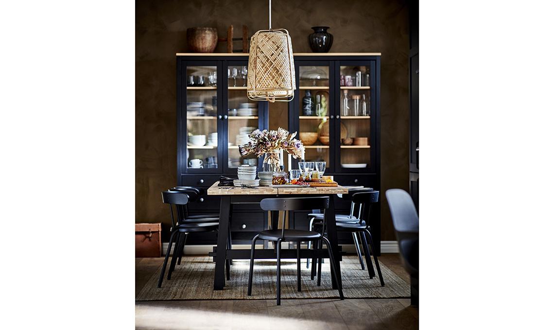 tavolo da pranzo nero