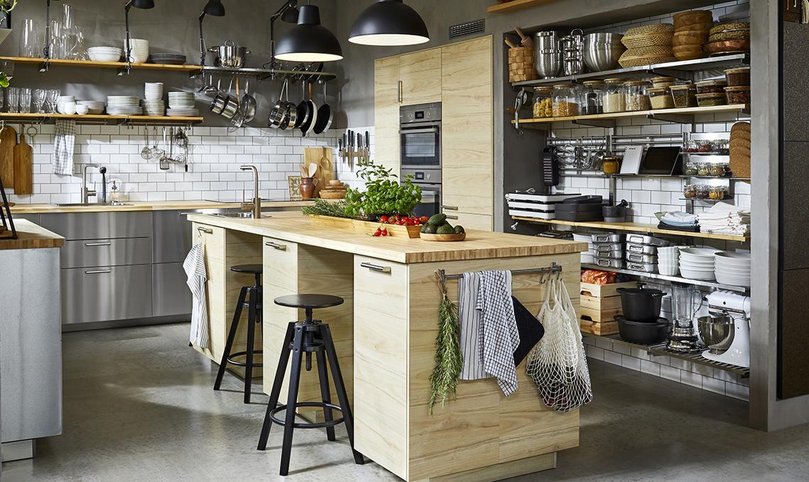 cucina con isola