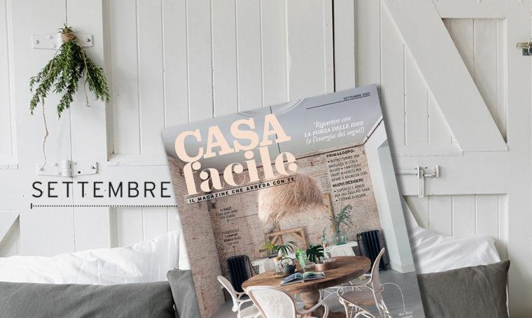 CasaFacile: il numero di settembre 2020